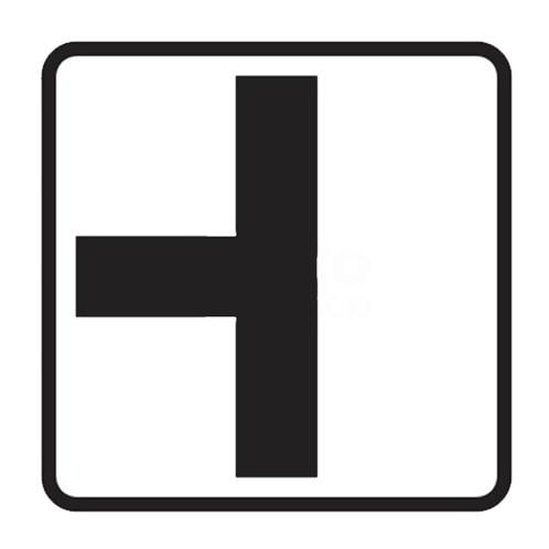 Dopravní značka - Dodatková tabulka - Tvar křižovatky, E2a, 500mm, tip1