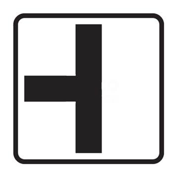 Dopravní značka E2a - Tvar křižovatky, tip1