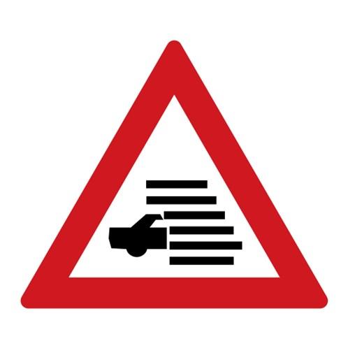 Dopravní značka - Mlha