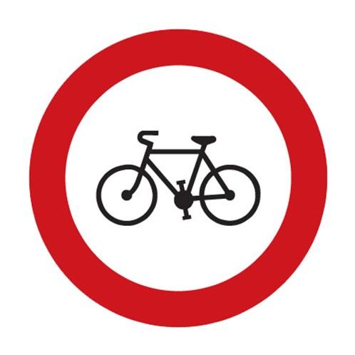 Dopravní značka - Zákaz vjezdu jízdních kol