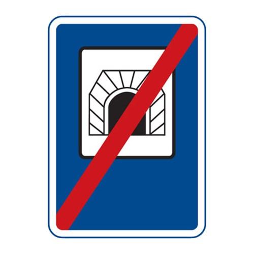 Dopravní značka - Konec tunelu, 500 x 700mm