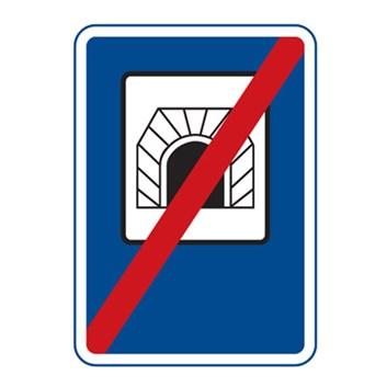 Dopravní značka IZ3b - Konec tunelu