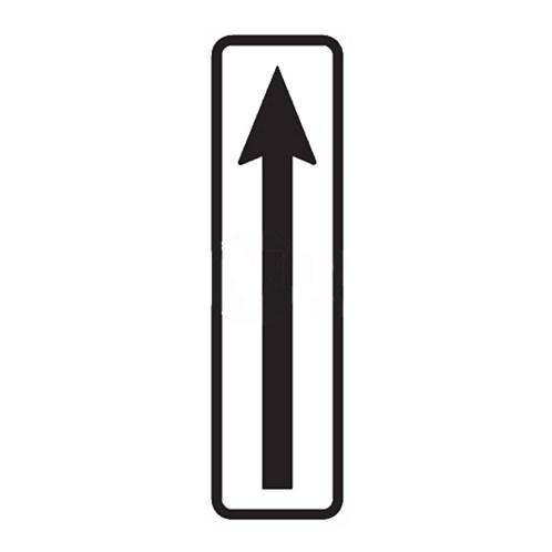 Dopravní značka - Dodatková tabulka - Začátek úseku, E8a, 500 x 150mm