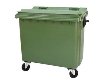 Plastový kontejner s plochým víkem