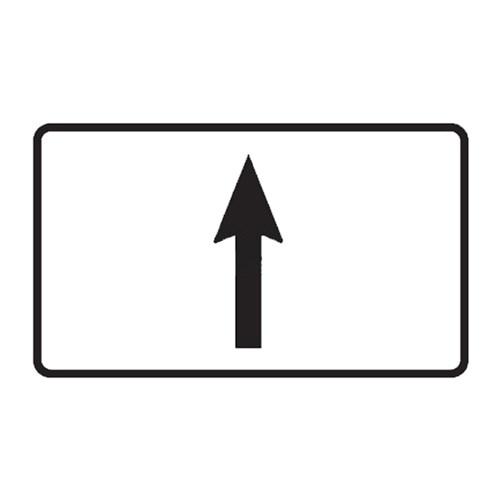 Dopravní značka -  Dodatková tabulka - Směrová šipka, E7a, 500 x 300m