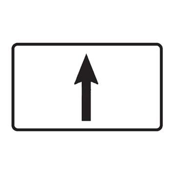Dopravní značka E7a - Směrová šipka