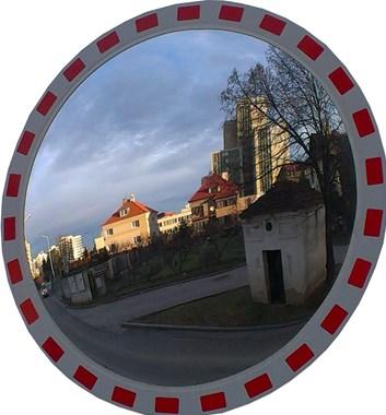 Dopravní zrcadlo kruhové