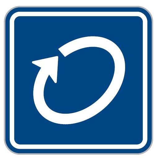 Dopravní značka - Okruh