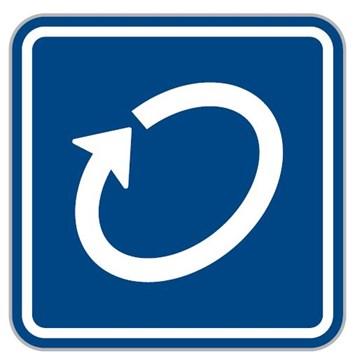 Dopravní značka IP1 - Okruh