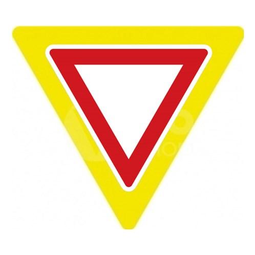 Dopravní značka - Dej přednost v jízdě, zvýrazněná 1250mm