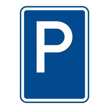 Dopravní značka IP11a - Parkoviště