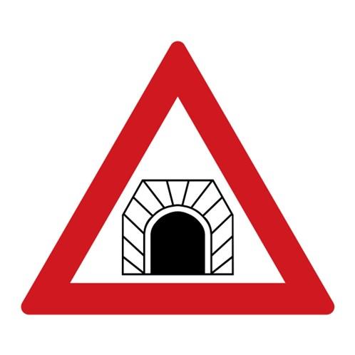 Dopravní značka - Pozor, tunel