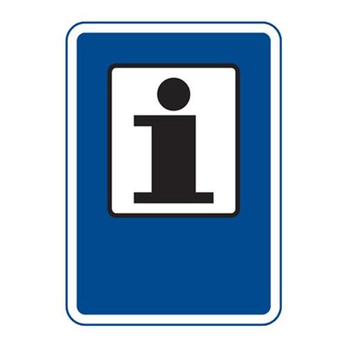 Dopravní značka - Informace, 500 x 700mm