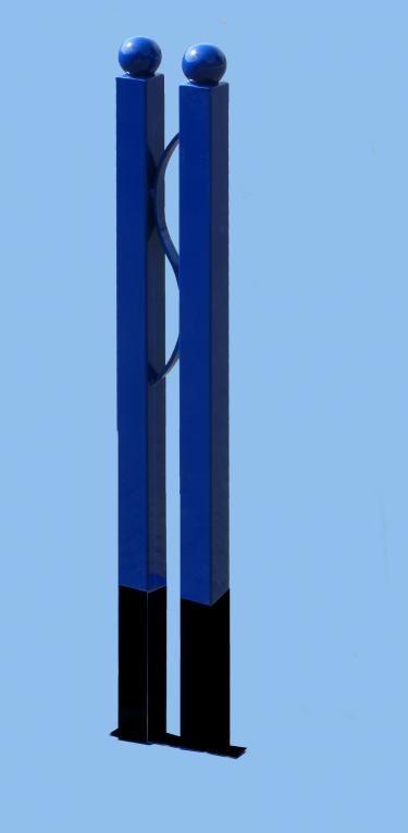 Dvojitý ochranný sloupek (modrý)