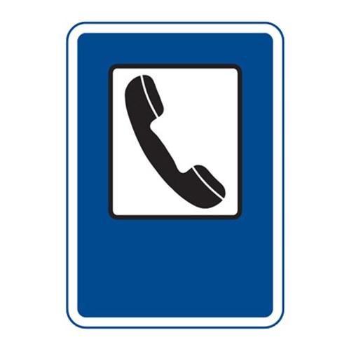 Dopravní značka - Telefon, 500 x 700mm