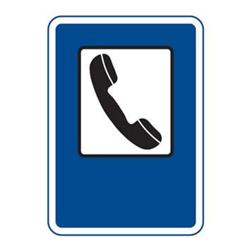 Dopravní značka IJ6 - Telefon
