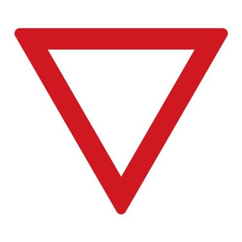 Dopravní značka - Dej přednost v jízdě, 700mm