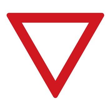 Dopravní značka P4 - Dej přednost v jízdě