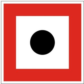 Plavební znak B7 - Příkaz dát zvukový signál