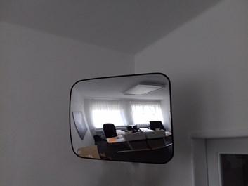 Kontrolní zrcadlo obdélníkové
