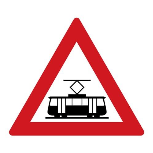 Dopravní značka - Tramvaj