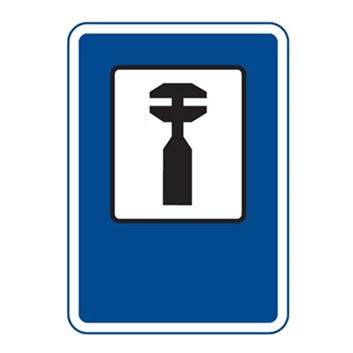 Dopravní značka IJ8 - Opravna