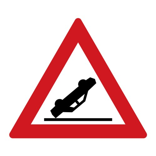 Dopravní značka - Nehoda