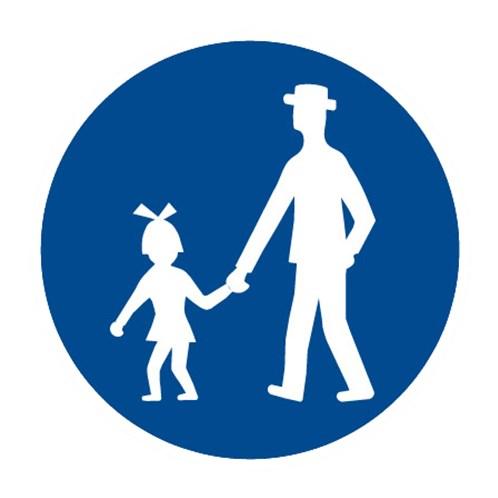 Dopravní značka - Stezka pro chodce