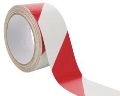Výstražná páska červenobílá
