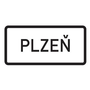 Dopravní značka IZ4a - Obec