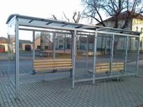 Autobusová zastávka Alexandrie