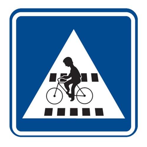 Dopravní značka - Přejezd pro cyklisty