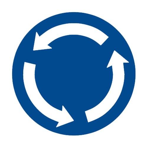 Dopravní značka - Kruhový objezd
