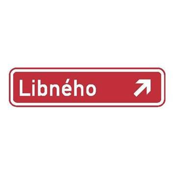 Dopravní značka IS22d - Označení názvu ulice