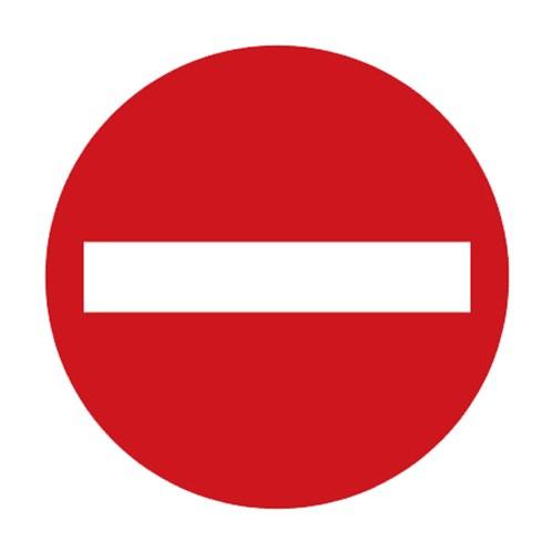 Dopravní značka - Zákaz vjezdu všech vozidel