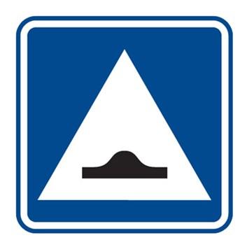 Dopravní značka IP2 - Zpomalovací práh