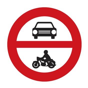 Dopravní značka B11 - Zákaz vjezdu všech motorových vozidel