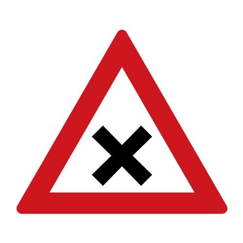 Dopravní značka - Křižovatka