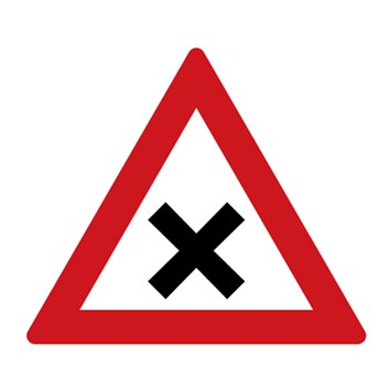 Dopravní značka A3 - Křižovatka