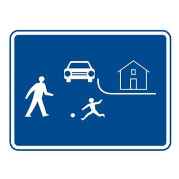 Dopravní značka IZ5a - Obytná zóna