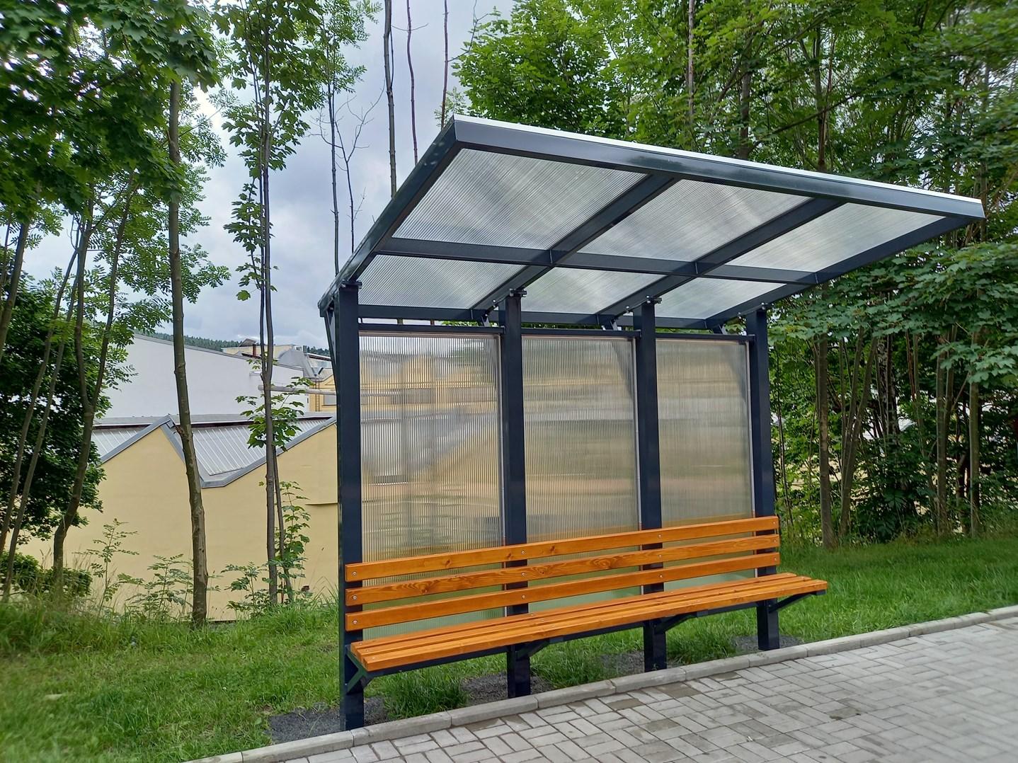 Autobusová zastávka Nagano