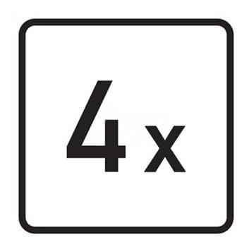 Dopravní značka E1 - Počet
