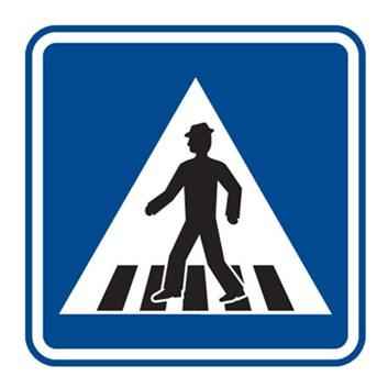 Dopravní značka IP6 - Přechod pro chodce