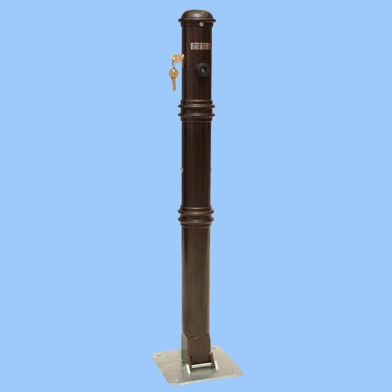 Ochranný sloupek zdobený sklopný (antika)