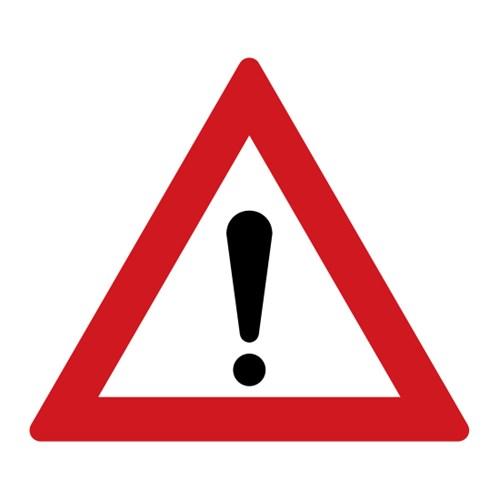 Dopravní značka - Jiné nebezpečí
