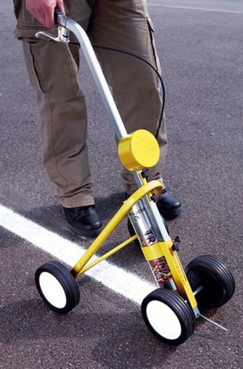 Značkovací vozík pro vodorovné značení