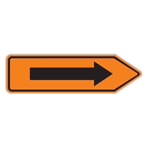 Dopravní značka - Informativní, kategorie - Směrová tabule pro vyznačení objížďky, IS11c, 700 x 200mm