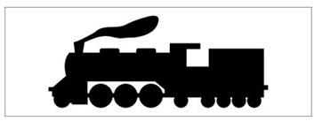 Železniční značka - Lokomotiva