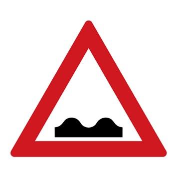 Dopravní značka A7a - Nerovnost vozovky
