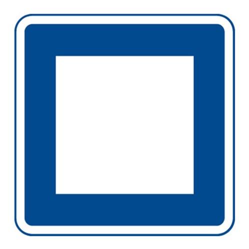 Dopravní značka - Zastávka, 500mm